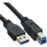 (€2,64*/1m) 3.00m InLine USB3.0 Anschlusskabel USB 3.0 USB A