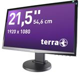 "21,5"" (54,61cm) Terra Greenline Plus 2255W Pivot schwarz 1920x1080 1xDVI / 1xHDMI / 1xVGA"
