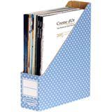 Fellowes BANKERS BOX STYLE Archiv-Stehsammler, blau/weiß