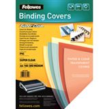 Fellowes Deckblatt, DIN A4, PVC, transparent, 0,30 mm