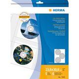 Herma CD-/DVD-Prospekthülle für 6 CD's, A4, 306,5 x