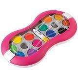 Pelikan Farbkasten Space 12Farben+1TB Deckweiß für Mädchen