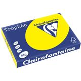Clairalfa Multifunktionspapier Troph'e, A3, kanariengelb