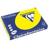 Clairalfa Multifunktionspapier, DIN A3, kanariengelb