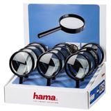 """hama Lupe """"Basic 75"""", rund, Durchmesser: 75 mm, schwarz"""