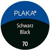 Pelikan Plaka, schwarz (Nr. 70), Inhalt: 50 ml im Glas