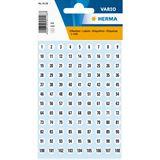 HERMA Zahlen-Sticker 1-540, Durchmesser: 8 mm, weiß