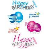"HERMA Sticker DECOR ""Happy Birthday"""