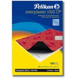 Pelikan Kohlepapier interplastic 1022 G, DIN A4, 100 Blatt
