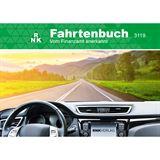 RNK Verlag Fahrtenbuch PKW, DIN A6 quer, 32 Blatt