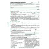 """RNK Verlag Vordruck """"Wohnungs-Einheitsmietvertrag"""", DIN A4"""