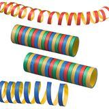 SUSY CARD Luftschlangen, aus Papier, 4 Farben