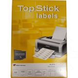 TOP STICK Universal-Etiketten, 105 x 74 mm, weiß, 100 Blatt