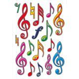 "HERMA Sticker MAGIC ""Notenschlüssel"", Jewel"