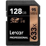 128 GB Lexar Professional SDXC 633x Class 10 Retail