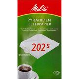 Melitta Pyramidenfiltertüten 202s für Gastronomie-Maschinen
