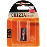ANSMANN Cell Power CR123A Lithium 3.0 V 1er Pack