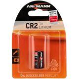 ANSMANN Photo-Batterie CR2 Lithium Batterie 3.0 V 1er Pack