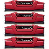 32GB G.Skill RipJaws V rot DDR4-3000 DIMM CL14 Quad Kit