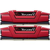16GB G.Skill RipJaws V rot DDR4-2800 DIMM CL17 Dual Kit