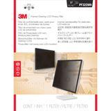 "3M PF322W9 Blickschutzfilter mit Rahmen 21.5"" 16:9"