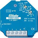 ELTAKO Funkempfänger 868MHz AP 230V/AC f.Pulsdrücker