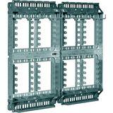 3M FNT-Verteilerkasten VKA12/LSA VertKasten AP Stbl/Kst 480DA 170mm IP40 gr