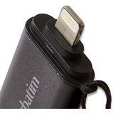 32 GB Verbatim iStore n Go schwarz USB 3.0 und Lightning