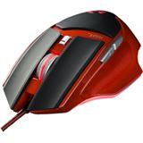 PNY RIOT O1 Gaming USB schwarz/rot (kabelgebunden)