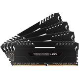 32GB Corsair Vengeance LED weiß DDR4-3400 DIMM CL16 Quad Kit