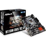 ASRock H110M-DVS R2.0 Intel H110 So.1151 Dual Channel DDR mATX Retail