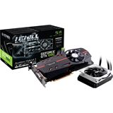 8GB INNO3D GeForce GTX 1080 iChiLL Black Edition Hybrid PCIe 3.0 x16