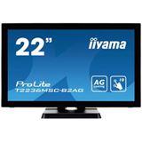 "21,5"" (54,61cm) iiyama ProLite T2236MSC-B2AG schwarz 1920x1080 1xDVI / 1xHDMI / 1xVGA"