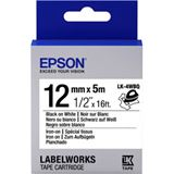 Epson TAPE - LK4WBQ IRON ON BLK/