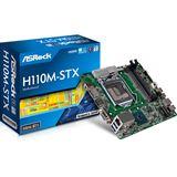 ASRock H110M-STX Intel H110 So.1151 Dual Channel DDR Mini-STX Retail