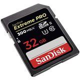 32 GB SanDisk Extreme PRO SDXC UHS-I U3 V30 Retail