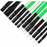 Nanoxia Frontpanel-Verlängerungen, grün/weiß