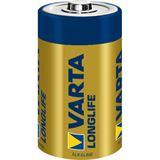 Varta Longlife LR20 Alkaline D Mono Batterie 1.5 V 4er Pack