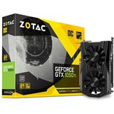 4GB ZOTAC GeForce GTX 1050 Ti OC Aktiv PCIe 3.0 x16 (Retail)