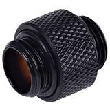 Alphacool HF Doppelnippel G1/4 AG auf G1/4 AG 10mm - Deep Black