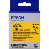Epson Tape LK4YBA5 HST BLK/