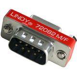 Lindy Mini-Adapter 9pol. St/Kpl SB - verpackt