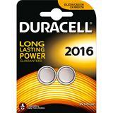 Duracell CR2016 Lithium Knopfzellen Batterie 3.0 V 2er Pack