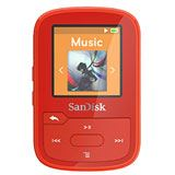 SanDisk MP3 Player Sansa Clip Sport Plus16GB rot