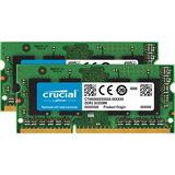 8GB Crucial CT2K51264BF186DJ DDR3L-1866 SO-DIMM CL13 Dual Kit
