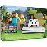 Microsoft Xbox One S 500 GB + Minecraft Bundle