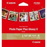 Canon PHOTO PAPER PLUS GLOSSY PP-201 13x13CM 20BL. #2311B060,