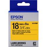 Epson Farbband pastell schwarz/gelb 18mm