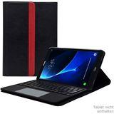 Leicke Sharon Hülle BT-Tastatur QWERTY Samsung Galaxy Tab A 10.1