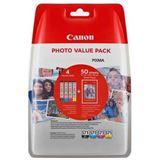 Canon Tinte CLI-571 0332C005 schwarz, cyan, magenta, gelb